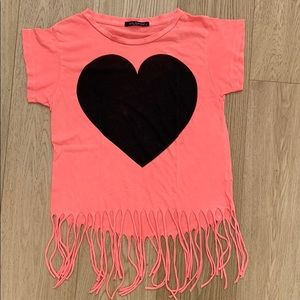 Vintage Wildfox Tee with Fringe